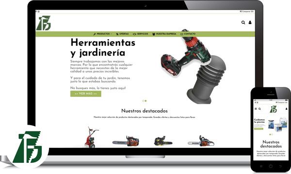 diseño web y redes sociales ferreteria ecija