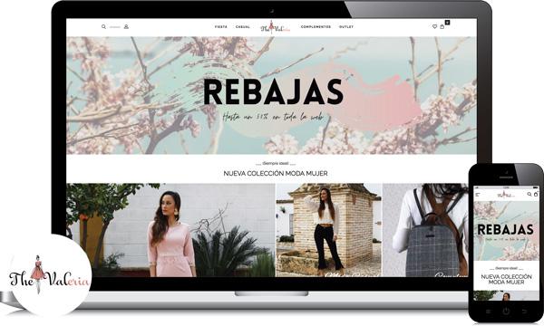 creacion ecommerce tienda online de ropa mujer low cost fuente palmera