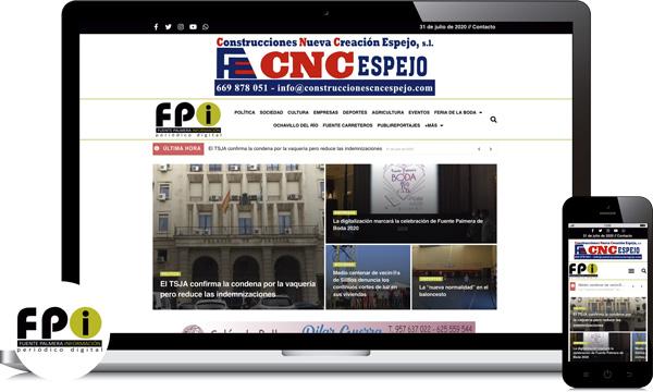diseño web para periodico digital