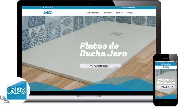 diseño web platos de ducha a medida cordoba